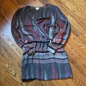 Parker geometric print dress